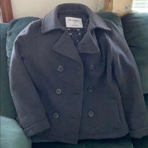 Aeropostale Gray Pea coat